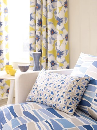 Latest fabrics from Neat Pleat Interiors